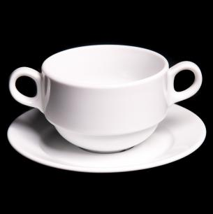 Lubiana Wersal Stackable Soup Bowl And Underliner Only 3