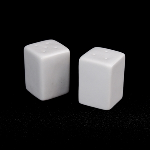 Classic Square Salt And Pepper Pots